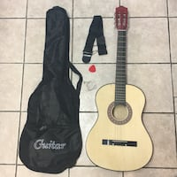 Guitar with case Spring, 77380