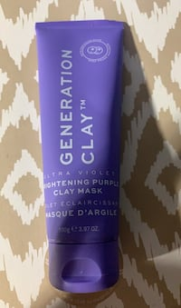 Generation Clay Brightening Purple Clay Mask