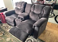 Double La-Z-Boy couch with cupholders Rockville, 20850