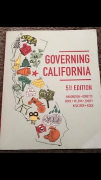 Governing California 5th edition book Whittier, 90601