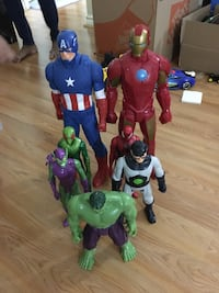 Kids super hero toys