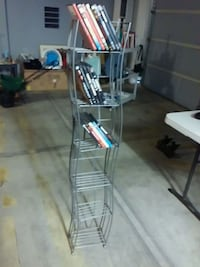 Set of 2 Gray Media 6-tier racks Tucson, 85742