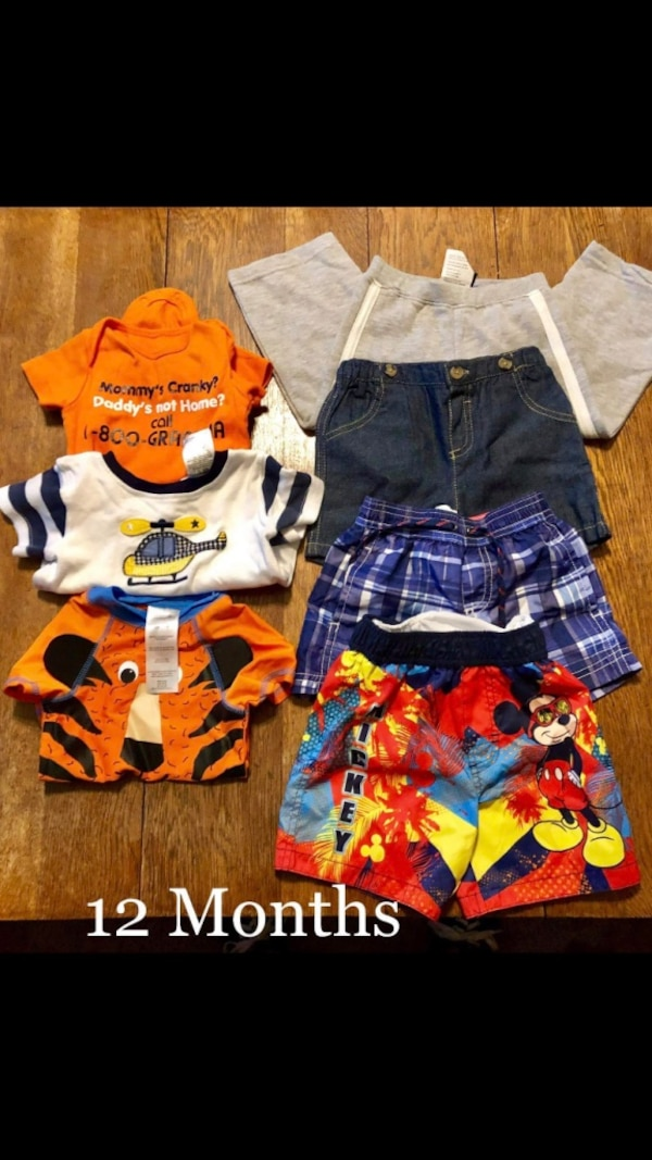 e831fc560102a Used 7 items of baby boy clothes for sale in Warner Robins - letgo