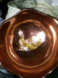 Artisan hand crafted copper bowl Roseburg, 97471