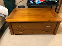 brown wooden 2-drawer chest Olmsted Falls, 44138