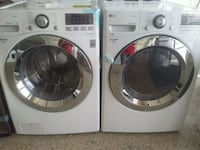 Brand new LG front load washer and dryer w/ steam North Fort Myers, 33903