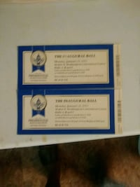 Inauguration Ball tickets