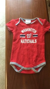 Infant Washington nationals jersey  Silver Spring, 20906