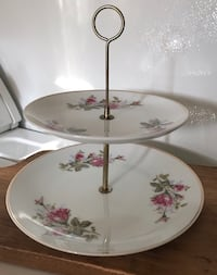 Vintage Shabby Chic 2-tier small platter Hagerstown, 21742