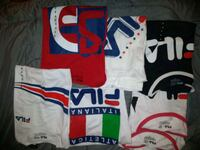 Fila shirts Small Medium Iand Extra Large Woodlawn