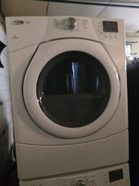 Whirlpool Duet stacking washer dryer set Edmonton, T6M 0J7