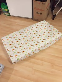 2 dual sided infant/toddler mattress