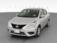 2018 Nissan Versa sedan S Plus Sedan 4D Silver <br /> Gaithersburg