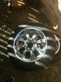 4 20 in Rims 6 lug  with 4 good year tires  Silver Spring, 20906