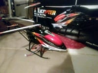 red and black r/c helicopter Carrollton, 75006