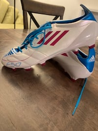 Adidas F50 Cleats Size 9! Mint condition.  North Vancouver, V7P 1S8