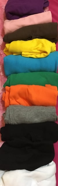 Selling 11 multi color tank tops brand new never been worn. It says free size but fits more xs-small all 11 for $3