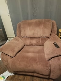 brown suede recliner sofa chair Price, 84501