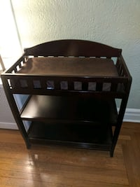 Baby changing table (espresso)