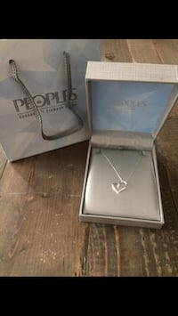 Brand New In Box: Peoples Diamond Heart Pendant (All Details In Ad) Toronto, M5V