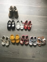 toddler's assorted pairs of shoes Watchung