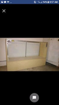 white wooden cabinet with mirror screenshot Hoover