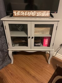 Grey cabinet from pier one Kitchener, N2B 3H3