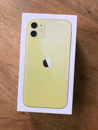 iPhone 11 yellow 128gb