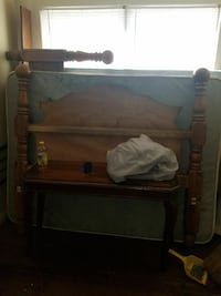 Table bed frame mattress