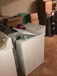 white top-load clothes washer Newport News, 23601