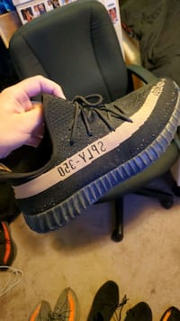 black and brown Adidas Yeezy Boost 350 Hanover, 17331