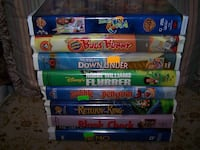 Lot of 8 VHS movies (Kid/Family) Joplin