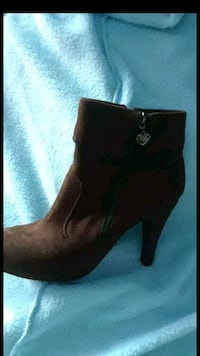 Brown suede boots  Fontana, 92337