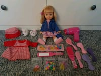 Travel Doll + Outfit & Accessories Cambridge, N3C 2B5