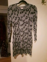 Leopard Sweater Dress Windsor, N9G 1X6