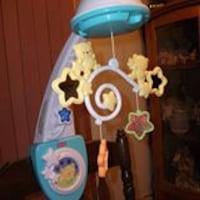 deluxe crib mobile ... firm price... Corbyville