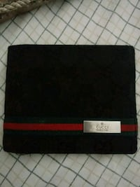 black and red Gucci leather wallet Houston, 77082