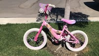 toddler's pink and white bicycle Oxnard, 93036