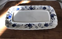Vintage Ironstone (England) Tray Hagerstown, 21742