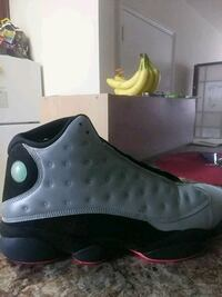 pair of black Air Jordan 13's Mount Rainier, 20712