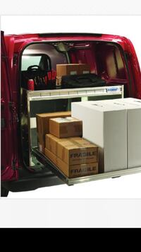 Ranger Design Pro Series work van Shelving delivery package for NV200