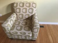 Gray fabric 2-seat sofa and chair Charlotte, 28214
