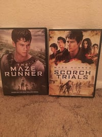 The Maze Runner , Maze runner the Scorch Trials YES StILL AVAILABLE