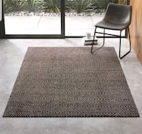 Brand new area rug 5x8 wool grey Mississauga, L5J 4E6