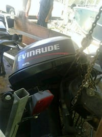 black and white Honda outboard motor Chattanooga