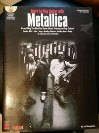 Learn to play guitar with metallica with cd Warwick, 02889