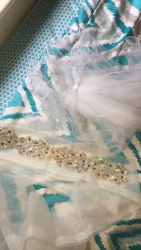 Sash and wedding veil. Very gorgeous!! Green Bay, 54301