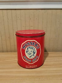 Vintage Musser's Potato Chips Can Baltimore, 21206