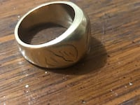 Gold men 18k ring Toronto, M9M 1E1