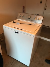 white top-load clothes washer New Bern, 28560